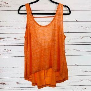 Kenneth Cole Activewear Orange Tank Top
